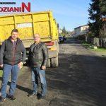 Remont drogi w Koszynie
