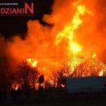 W Bieganowie spłonęło gospodarstwo