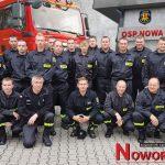 Strażacy z najwyższa remizą