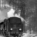 Pociąg retro w Nowej Rudzie