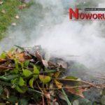Zakaz spalania odpadów zielonych