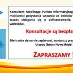 Mobilny Punkt Informacyjny w Gminie Nowa Ruda
