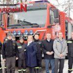 Nowy wóz strażacki dla Woliborza