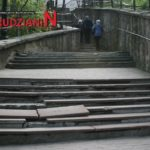 Tragiczny stan schodów