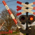 Uwaga przejazd kolejowy