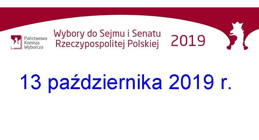 IWybory parlamentarne 2019 - informacje