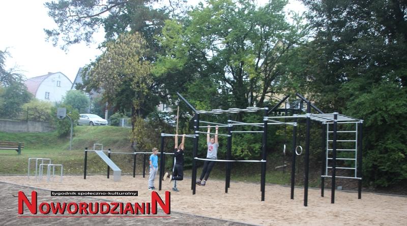 Street Workout w Drogosławiu