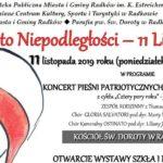 Zaproszenie na na uroczyste obchody święta Niepodległości w Radkowie