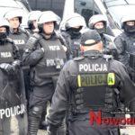 Ćwiczenia policji na stadionach