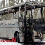 Pożar autokaru