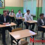Międzynarodowy egzamin w noworudzkim ogólniaku