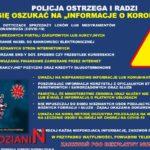 Policja ostrzega i radzi