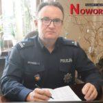 Życzenia i apel komendanta noworudzkiego komisariatu