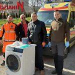 Strażacy z OSP pomagają w czasie epidemii