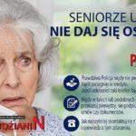 Seniorzy oszukiwani na koronawirusa