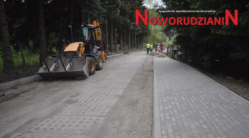 Przebudowa ulicy Górniczej w Nowej Rudzie