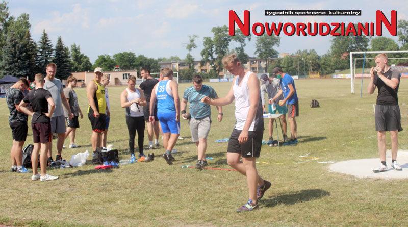 Noworudzcy lekkoatleci na Pikniku rzutowym w Szprotawie