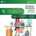 Komputer dla dziecka z rodziny rolniczej