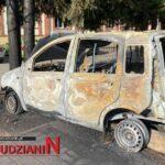 Spłonął samochód w Ludwikowicach