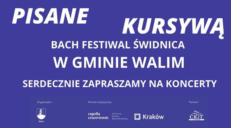 Bach Festiwal Świdnica w Gminie Walim