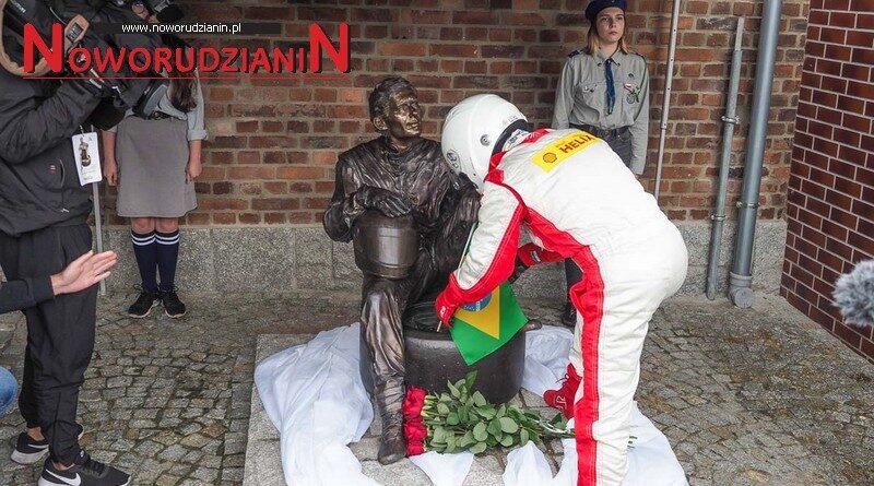 Wałbrzych ma pomnik Ayrtona Senny